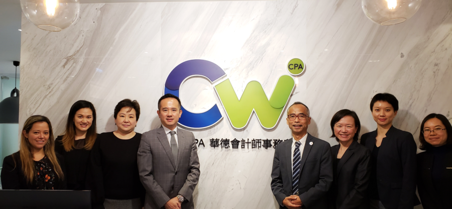 U.S. law firm Dorsey & Whitney visited CW office in Hong Kong